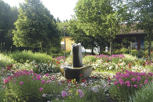 Sonnen-Therme_Brunnen_Blumen