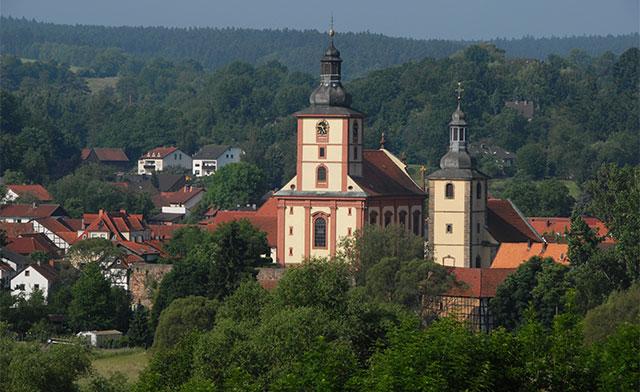 Kirchenensemble-Burghaun