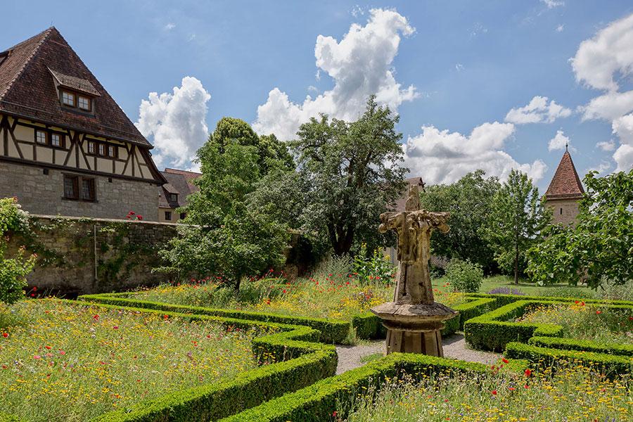 Klostergarten-Rothenburg