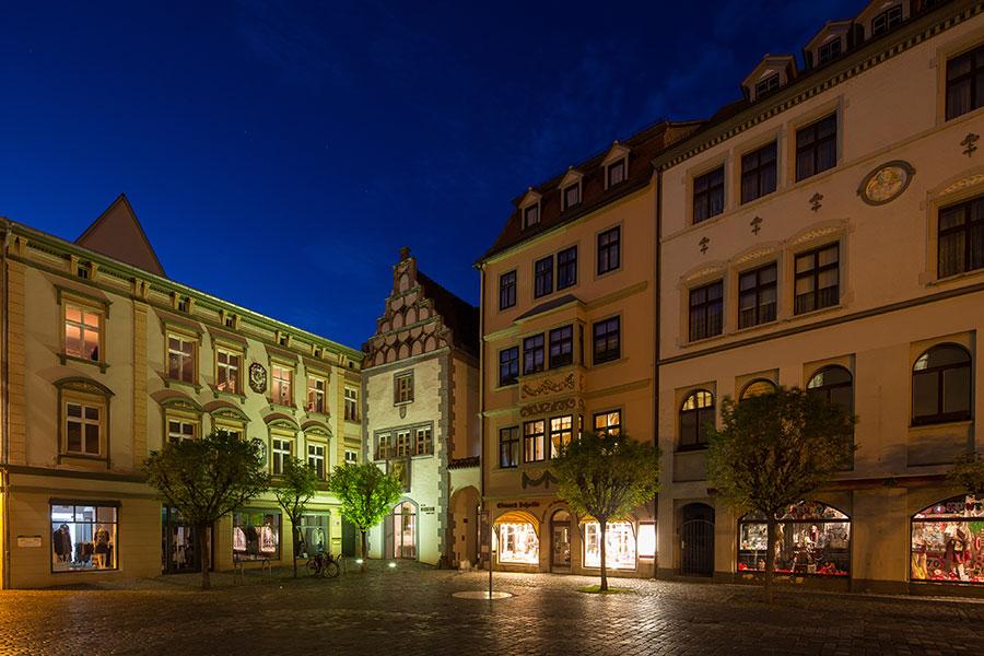 Naumburg-(Saale)_Marktplatz,-Stadtmuseum-Hohe-Lilie_Foto-M.Frauendorf